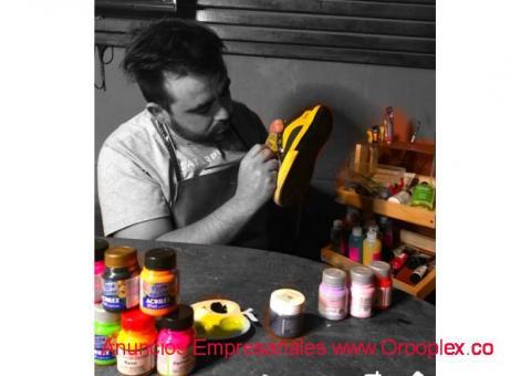 Restauración y Personalización de Zapatillas en Chile.